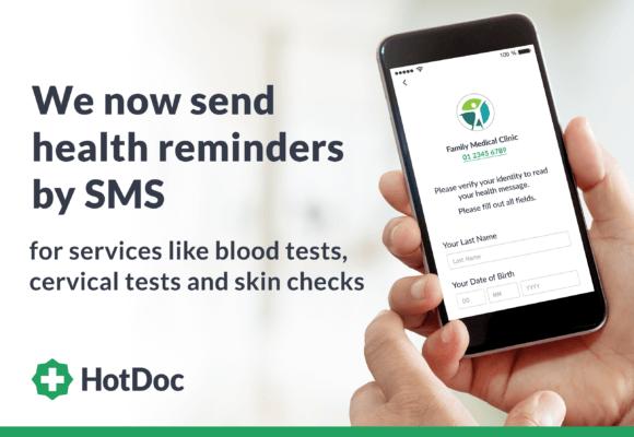 Introducing HotDoc recalls and health reminders